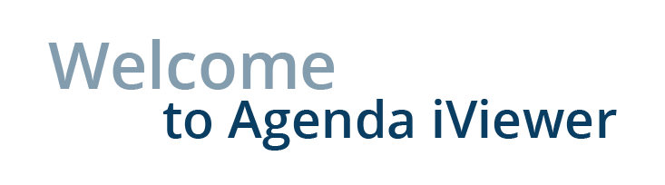Welcome to Agenda iViewer